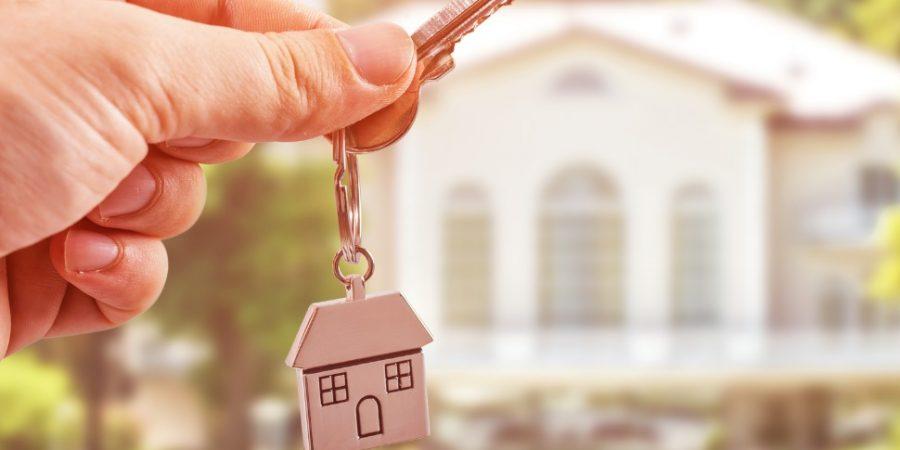 Une clé de maison